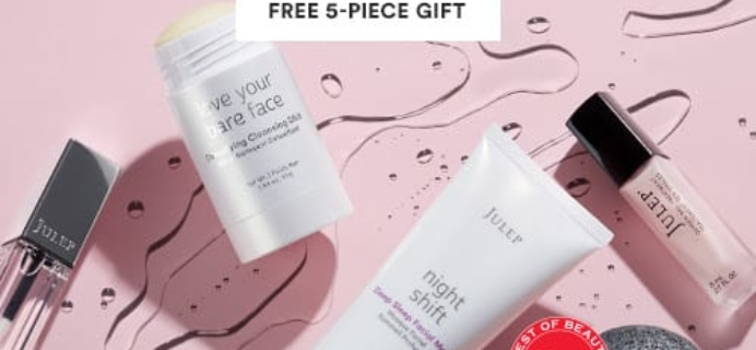 New Julep Deal: Get FREE Skin And Nail Care Gift When You Join Julep Beauty Box!