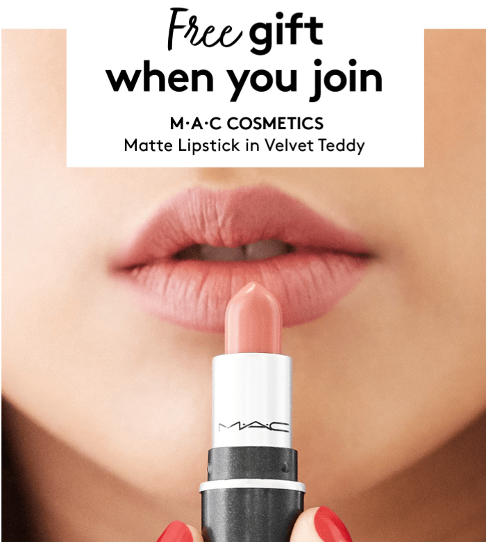 Birchbox Coupon Code: FREE Mini M·A·C Matte Lipstick with Subscription!