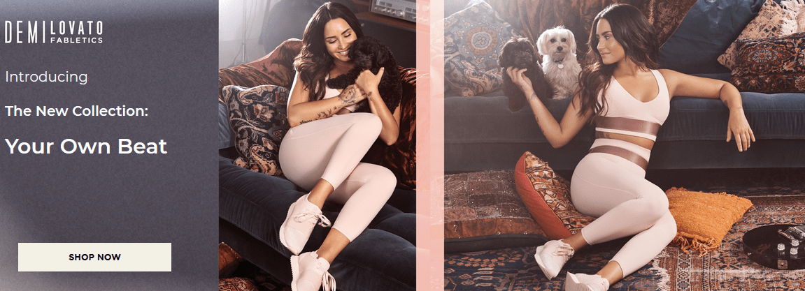 New Demi Lovato Fabletics Collection Available Now + Free Leggings Coupon!