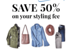 LAST DAY! Wantable Style OR Fitness Edit FREE Styling Fee – 50% Off!