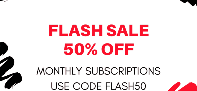 Cocotique 50% Off Flash Sale!