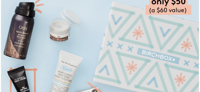 Birchbox Deal: Get $10 Off Your 6 Month Subscription!