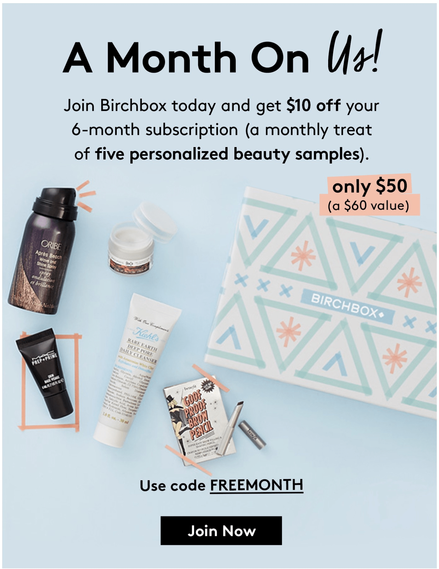 Birchbox Deal: Get $10 Off Your 6 Month Subscription! - hello subscription