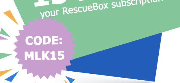 Rescue Box Sale: 15% Off RescueBox Subscriptions!