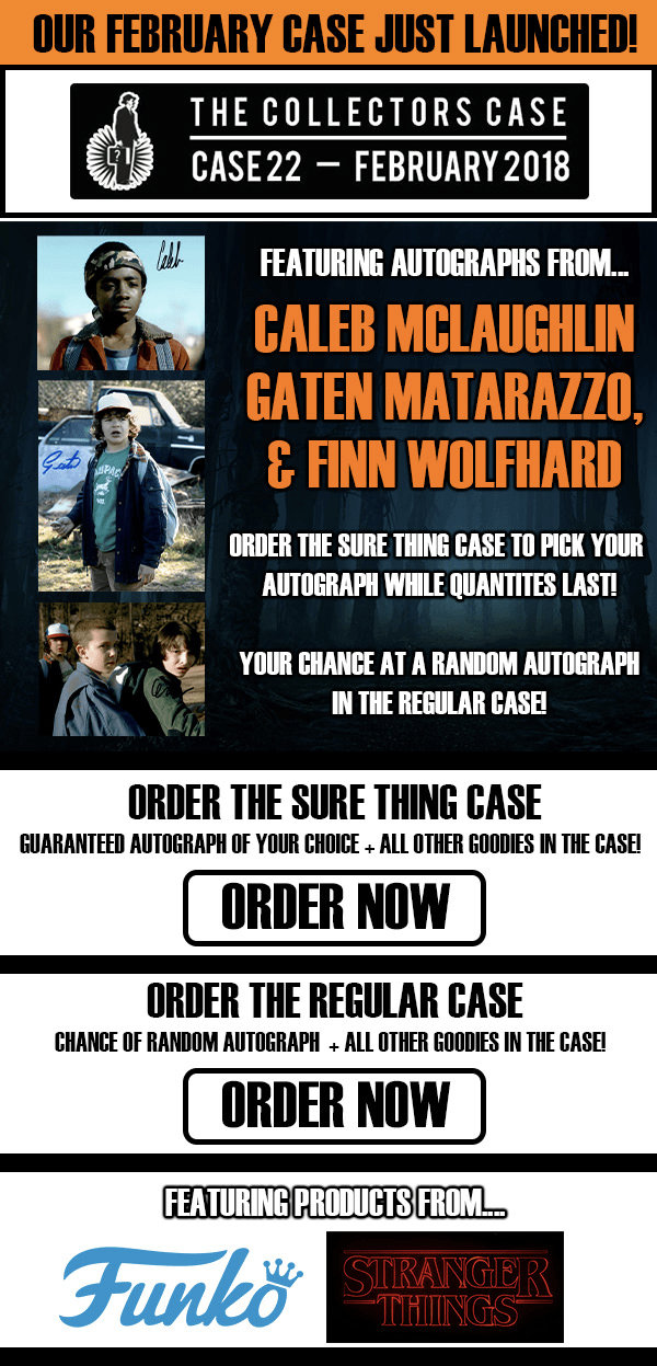 The Collectors Case February 2018 Spoilers!