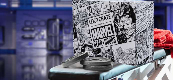 Loot Crate Marvel Gear + Goods March 2018 Full Spoilers + Coupon!