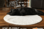 FREE Cuddle Mat with Pet Treater Cat Pack!