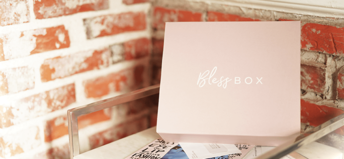 Bless Box August 2018 Spoiler + Coupon!