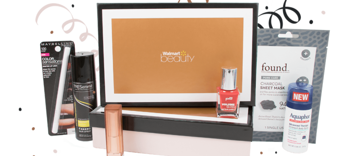 Walmart Beauty Box – Winter 2017-2018 Box Available Now!