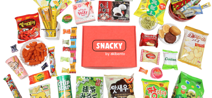 New Snacky Box from Akibento – January 2018 Spoilers + Coupon!