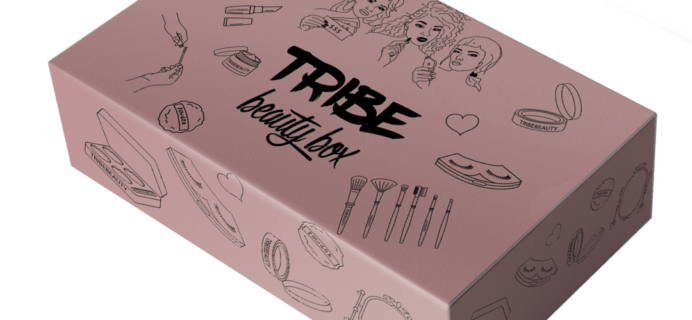 Tribe Beauty Box February 2018 Spoiler + Coupon!