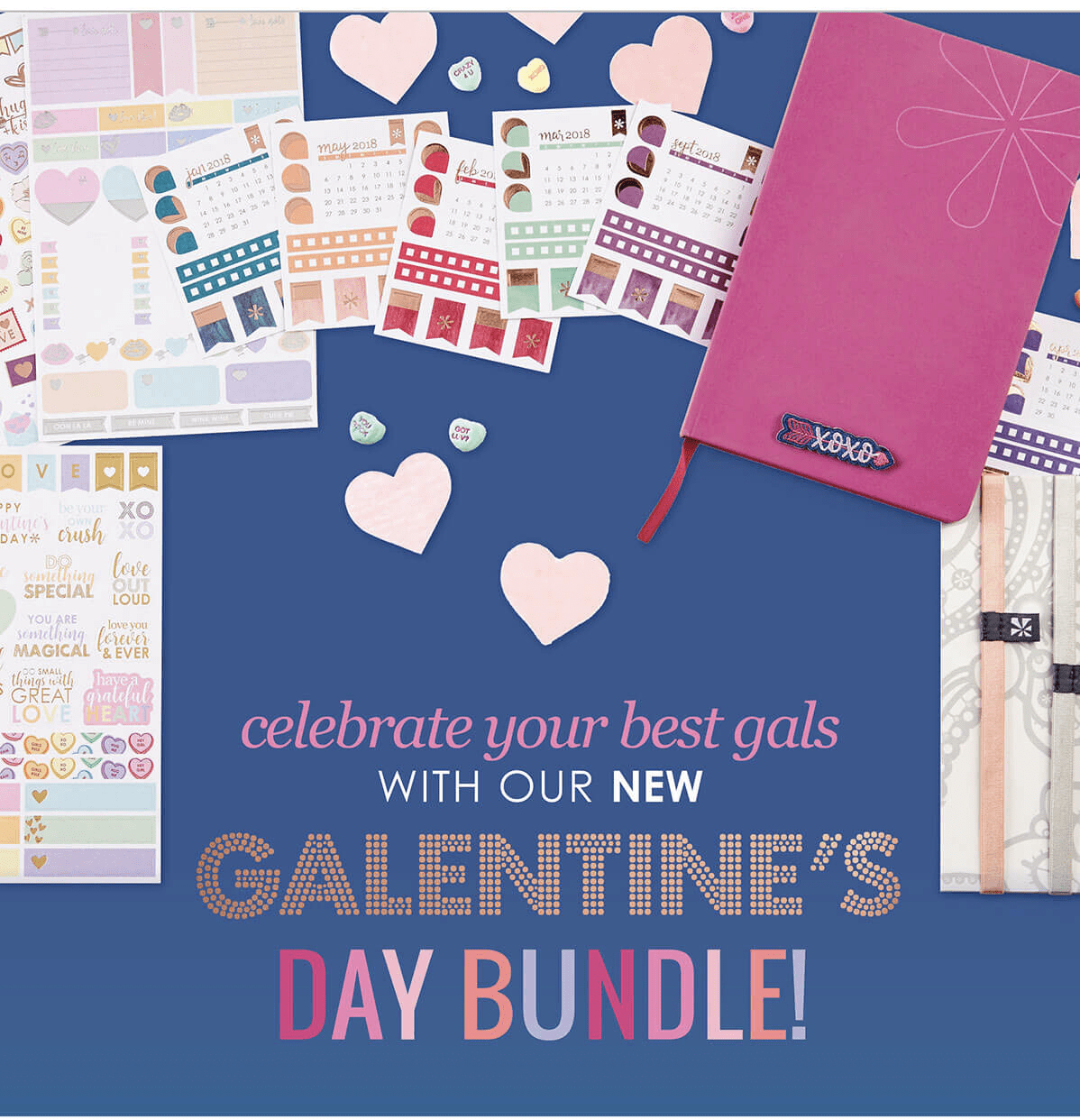 Erin Condren 2018 Galentine's Day Bundle Available Now!