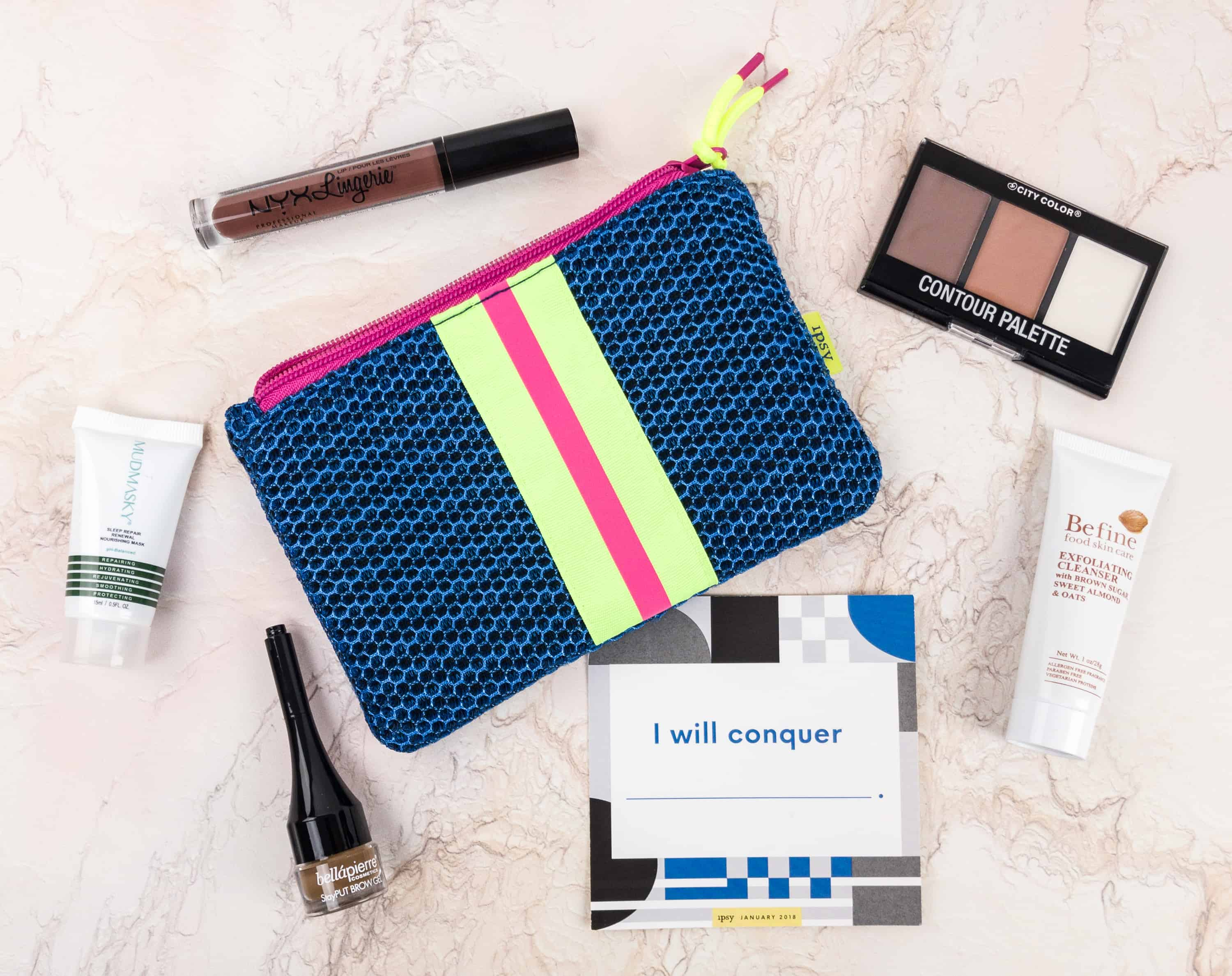 Ipsy January 2018 Review