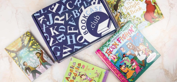 Kids BookCase Club January 2018 Subscription Box Review