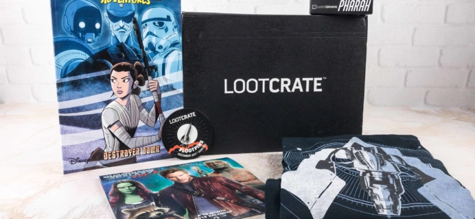 Loot Crate December 2017 Review + Coupons – EXPLORE 2.0!