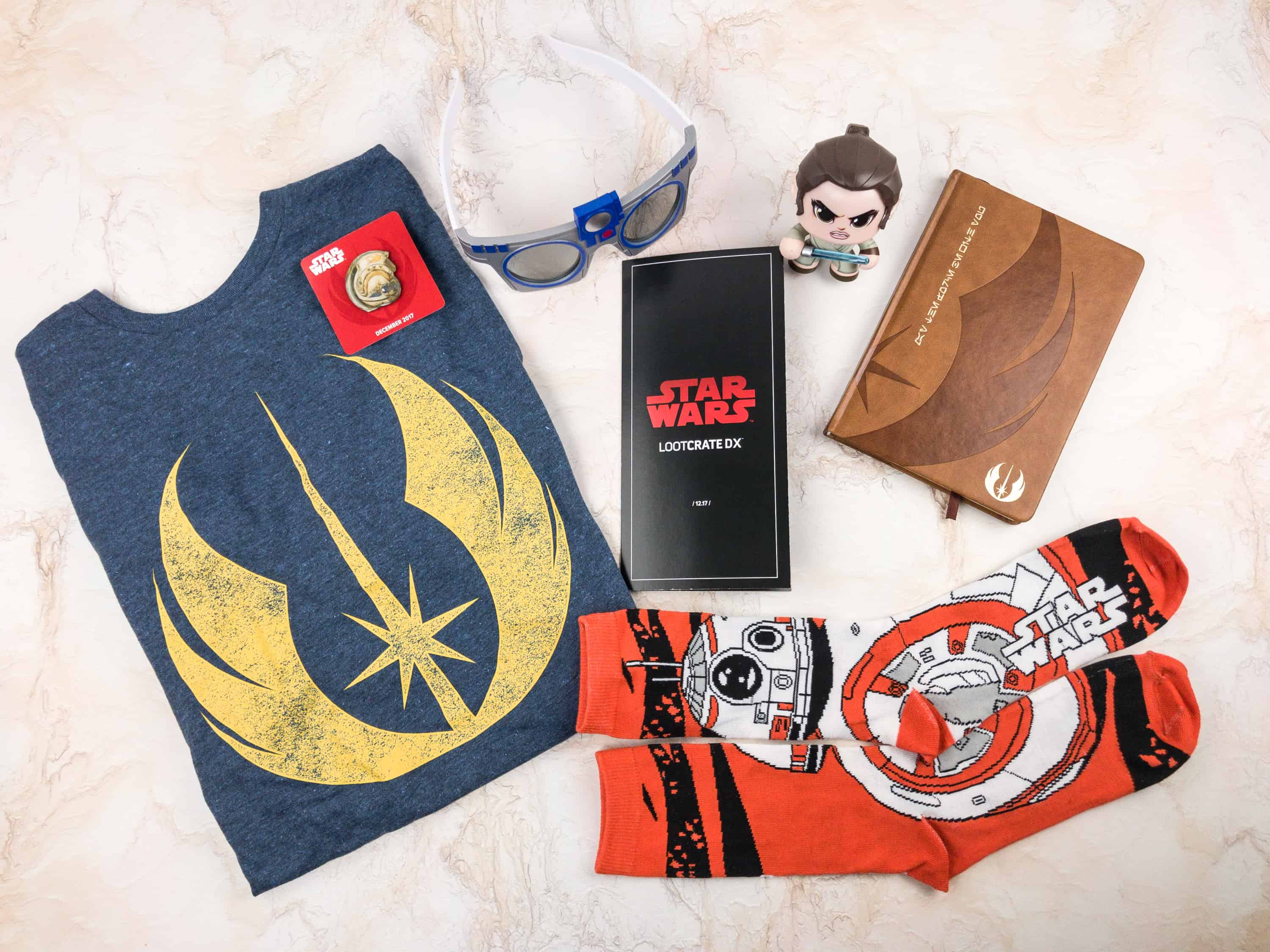 Loot Crate DX December 2017 Subscription Box Review & Coupon