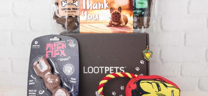 Loot Pets December 2017 Review & Coupon – Final Box