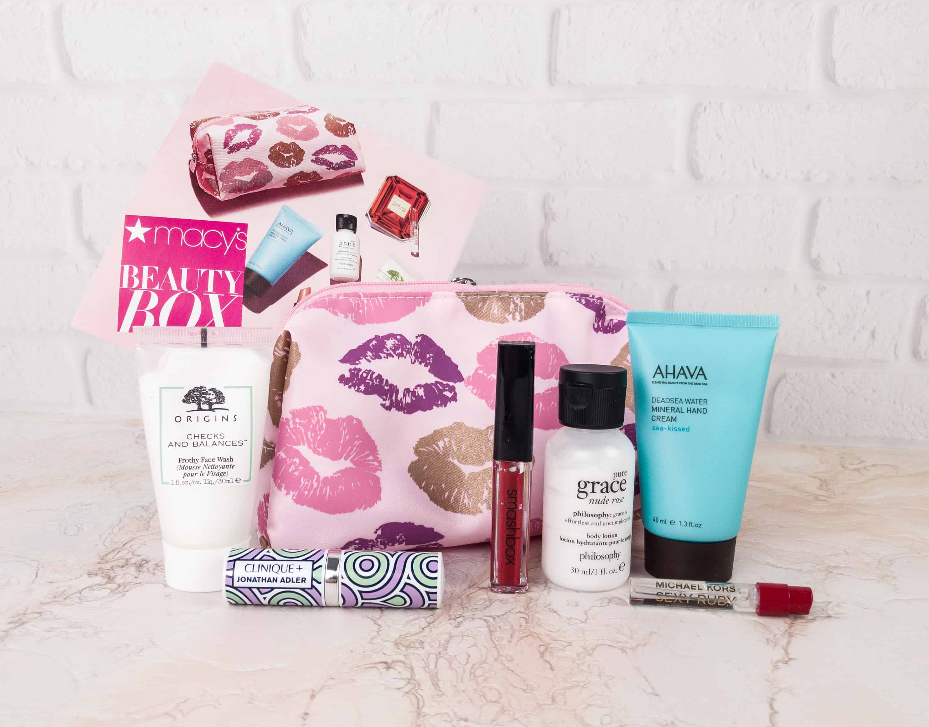 Macy's Beauty Box January 2018 Subscription Box Review
