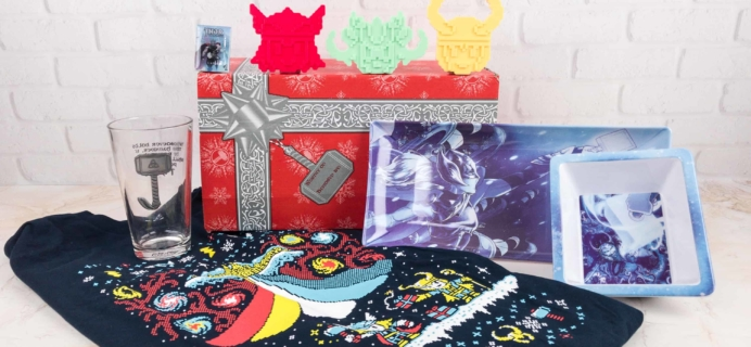 Marvel Gear + Goods November 2017 Subscription Box Review + Coupon!