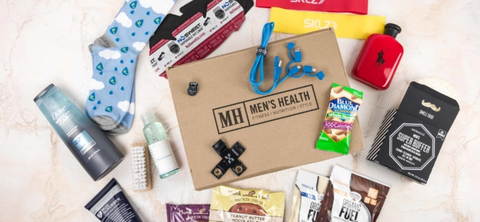Men's Health Box Winter 2017 Subscription Box Review