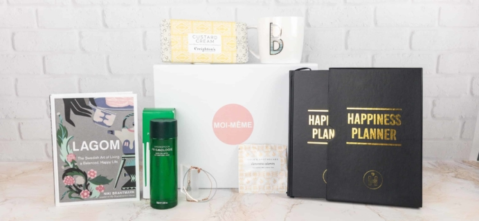 Moi-Même Winter 2017 Subscription Box Review – The Happiness Box