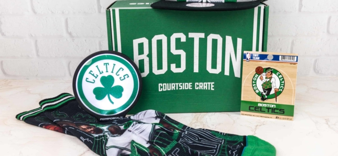 Courtside Crate by Sports Crate: NBA Edition January 2018 Subscription Box Review + Coupon