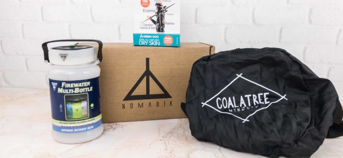 Nomadik December 2017 Subscription Box Review + Coupon