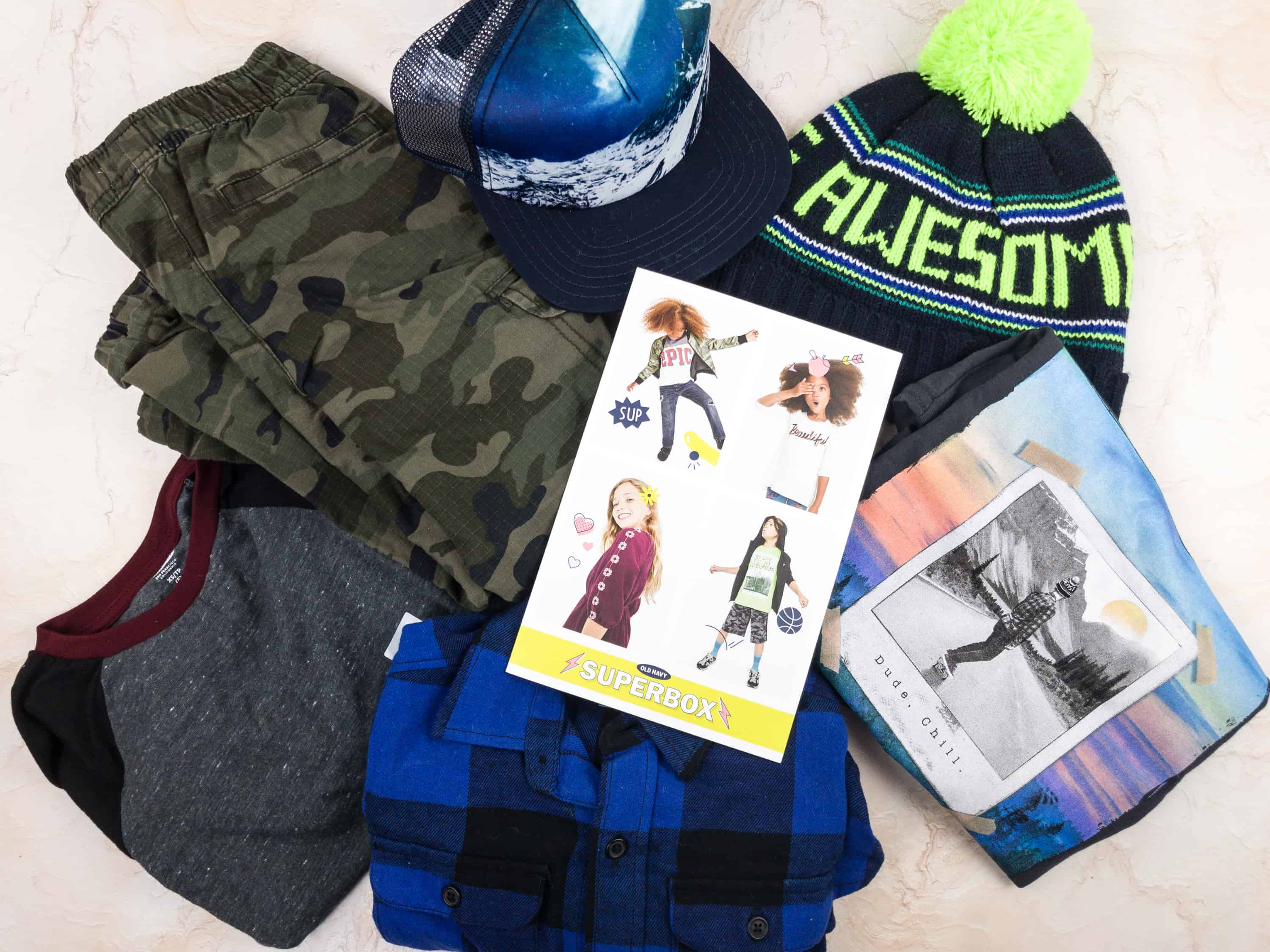 Old Navy Superbox January 2018 Subscription Box Review