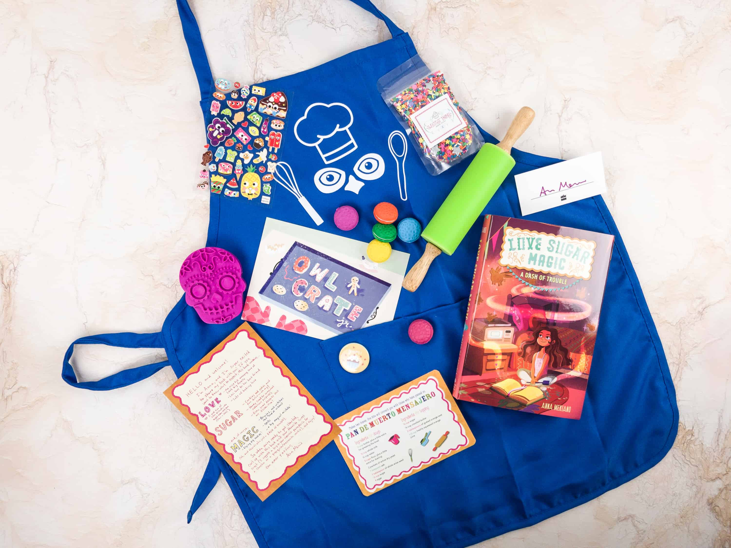 OwlCrate Jr. January 2018 Box Review