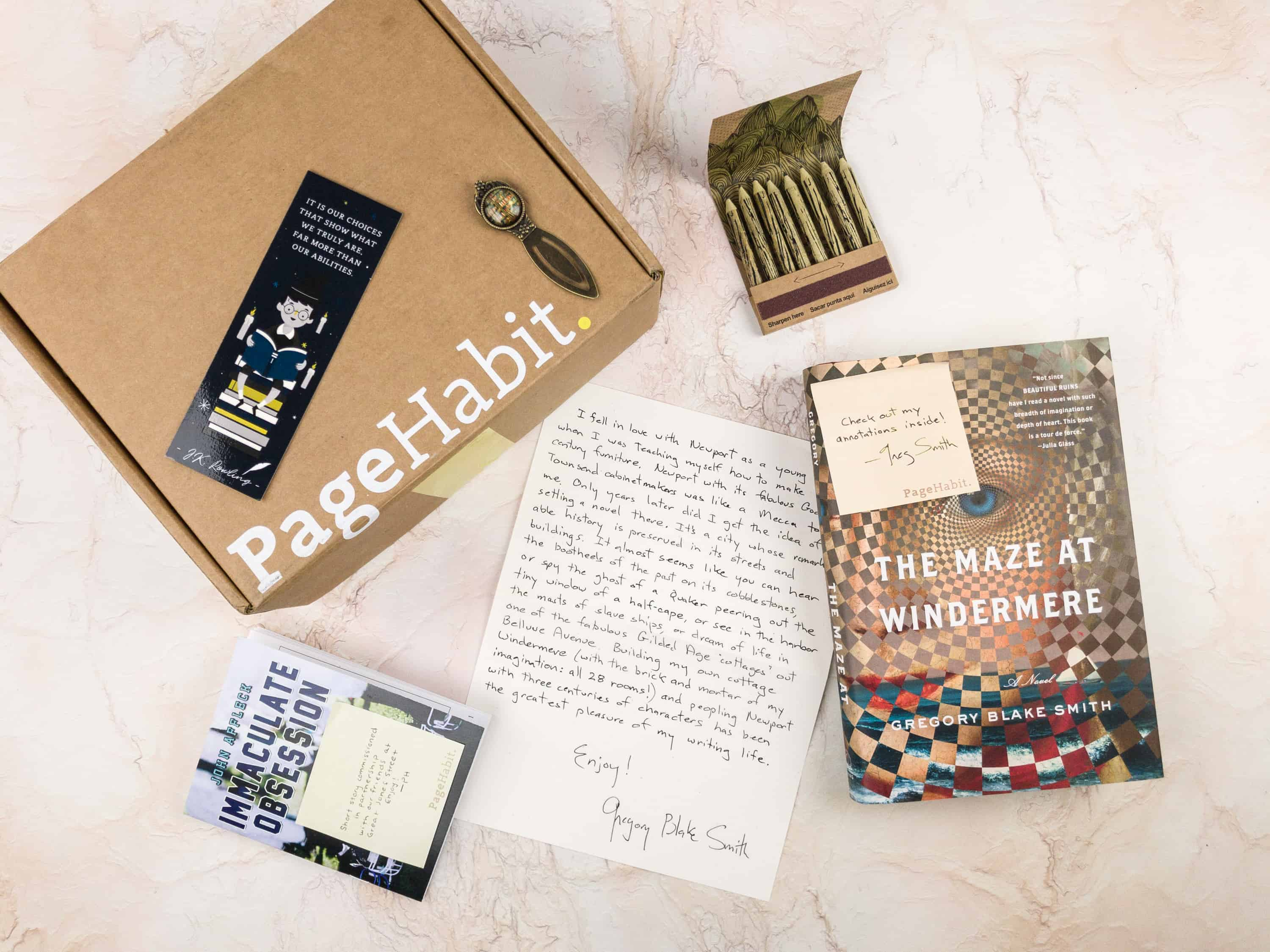PageHabit January 2018 Subscription Box Review + Coupon – Historical Fiction