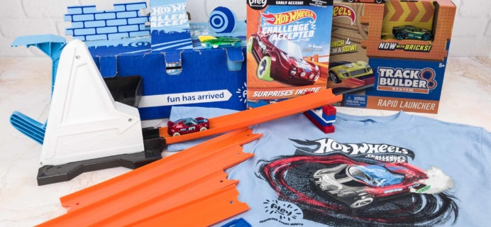 Hot Wheels PleyBox Winter 2017 Subscription Box Review