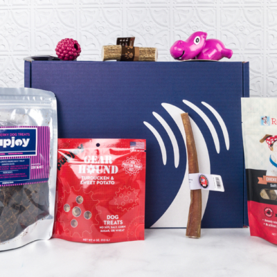 PupJoy March 2018 Subscription Box Review + Coupon