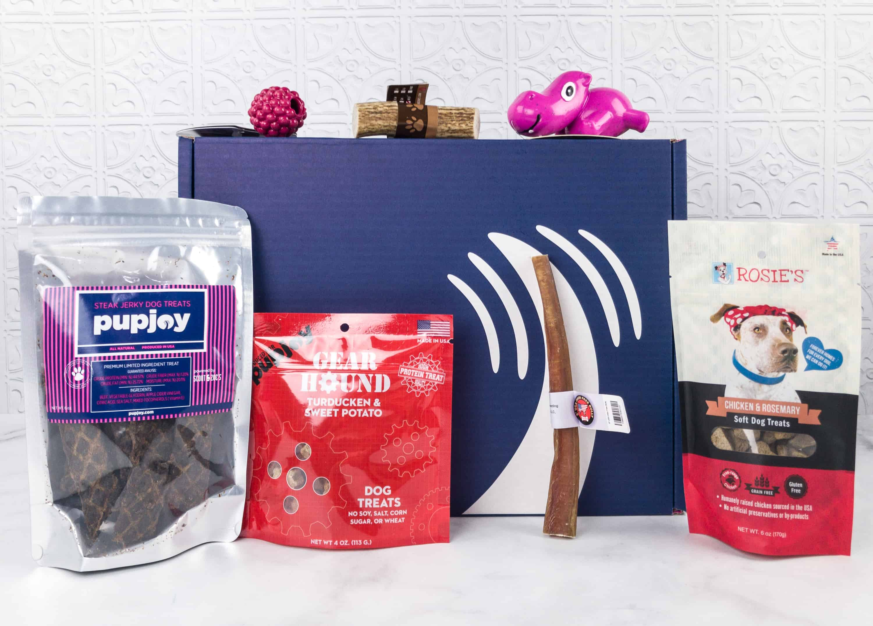 PupJoy January 2018 Subscription Box Review + Coupon