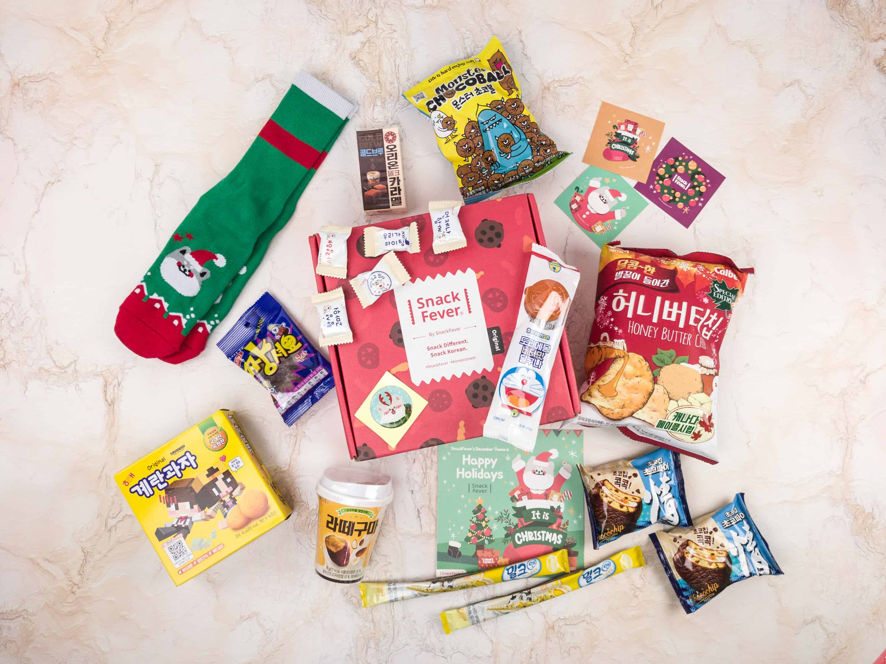 December 2017 Snack Fever Subscription Box Review + Coupon – Original Box