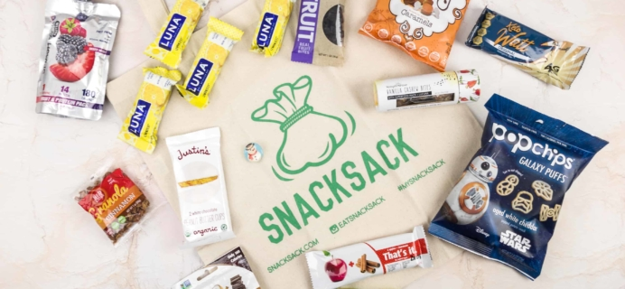 SnackSack December 2017 Subscription Box Review & Coupon – Gluten-Free