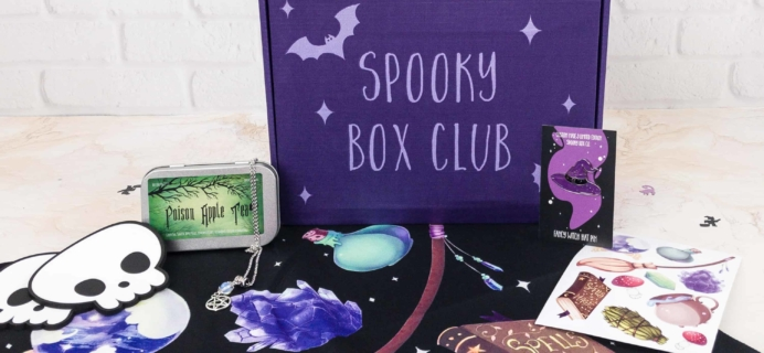 Spooky Box Club Subscription Box Review – Witch's Cottage