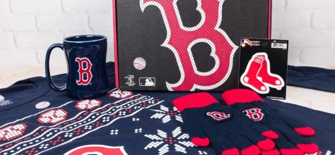 Sports Crate MLB Edition December 2017 Review + Coupon – Holiday Crate!