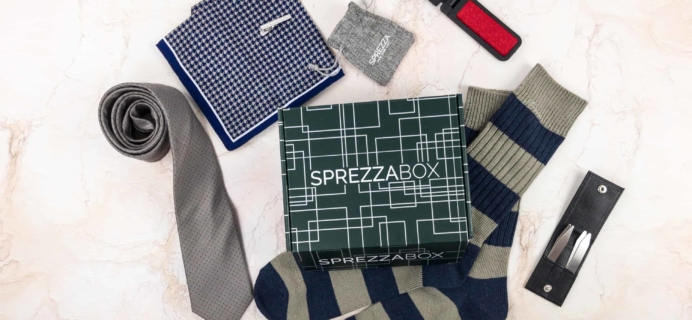 SprezzaBox Subscription Box Review + Coupon – January 2018