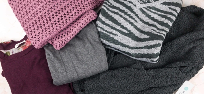 January 2018 Stitch Fix  Review {Maternity} + Try It Free Deal!
