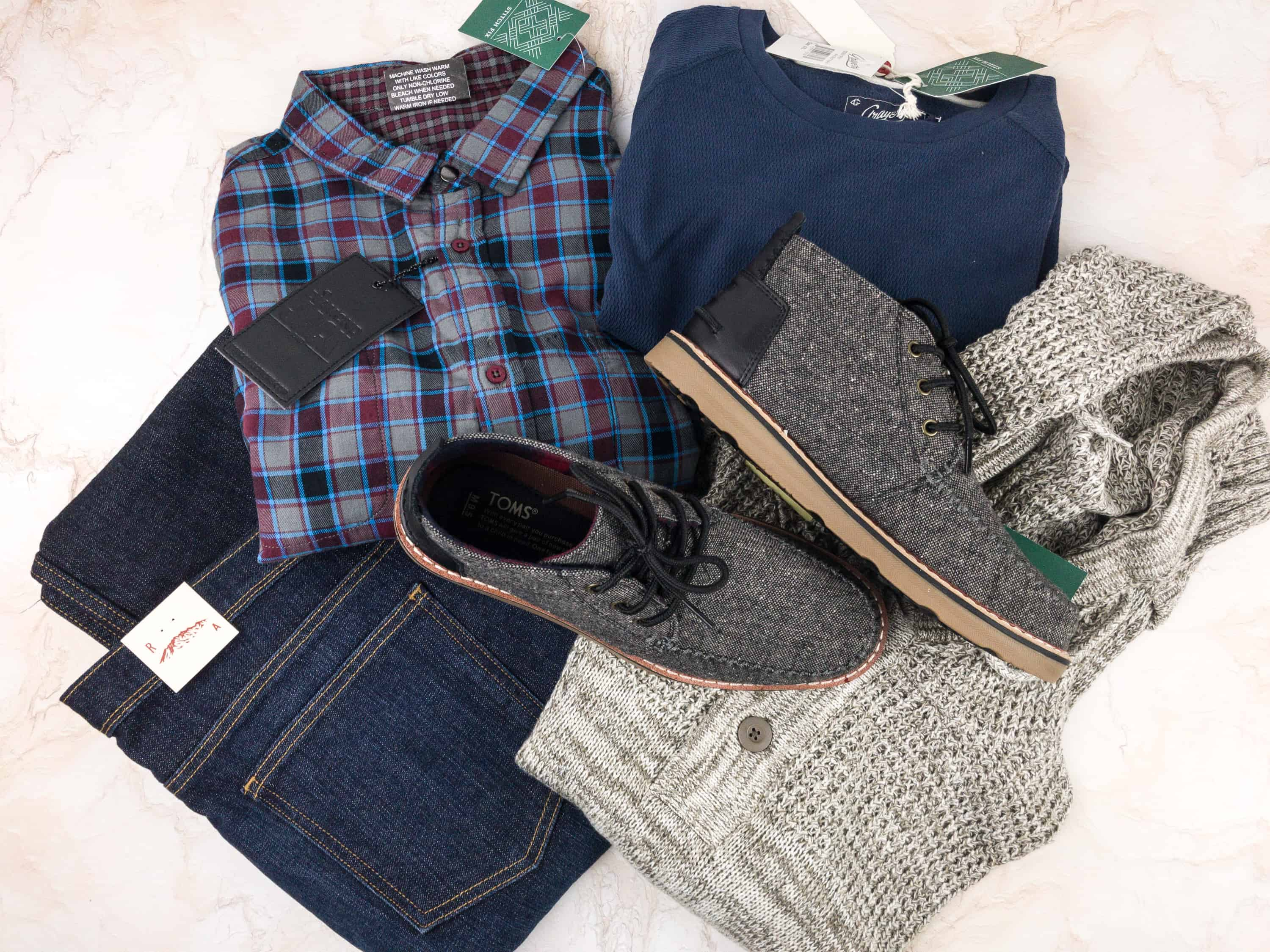 Stitch Fix Men January 2018 Review + Free Styling Fee!