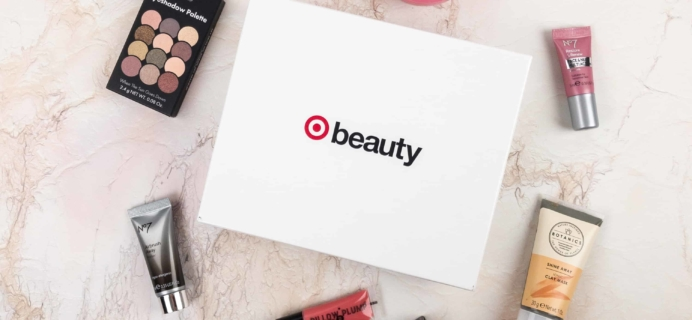 Target Beauty Box January 2018 Best of Boots Box Review