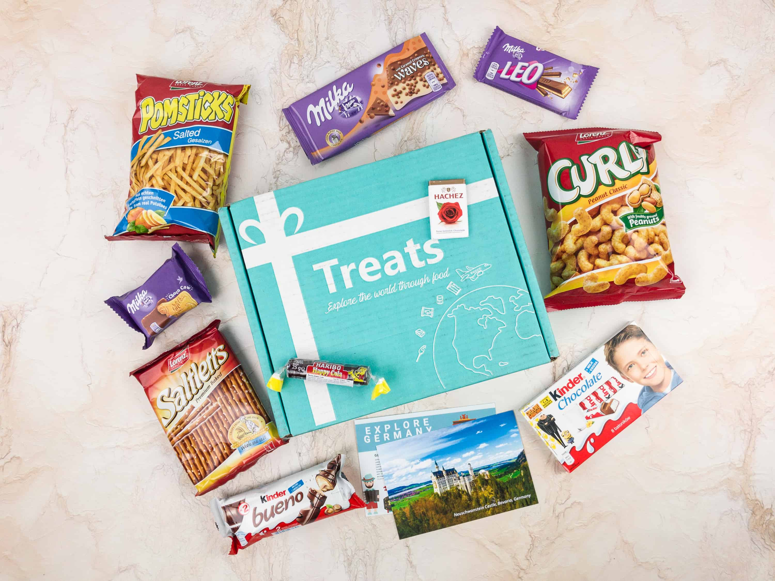 Treats Box January 2018 Review & Coupon – Germany