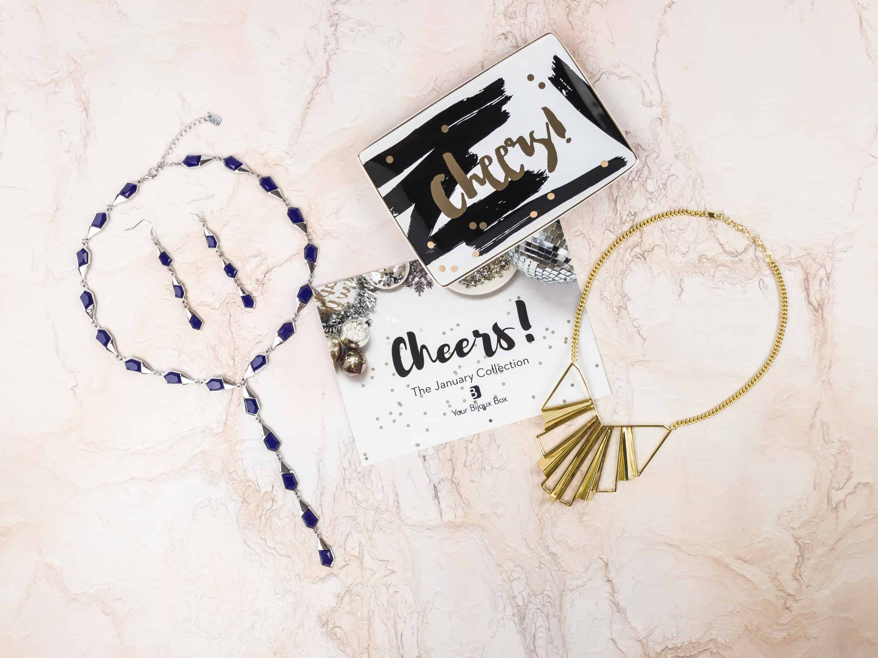 Your Bijoux Box January 2018 Subscription Box Review + Coupon