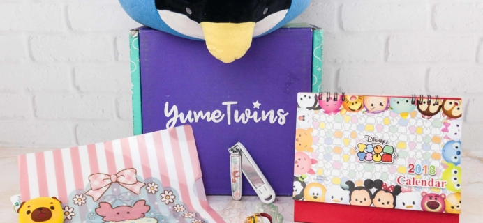 YumeTwins January 2018 Subscription Box Review + Coupon