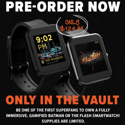 Loot Vault Special Collection – Batman & The Flash Smart Watches!