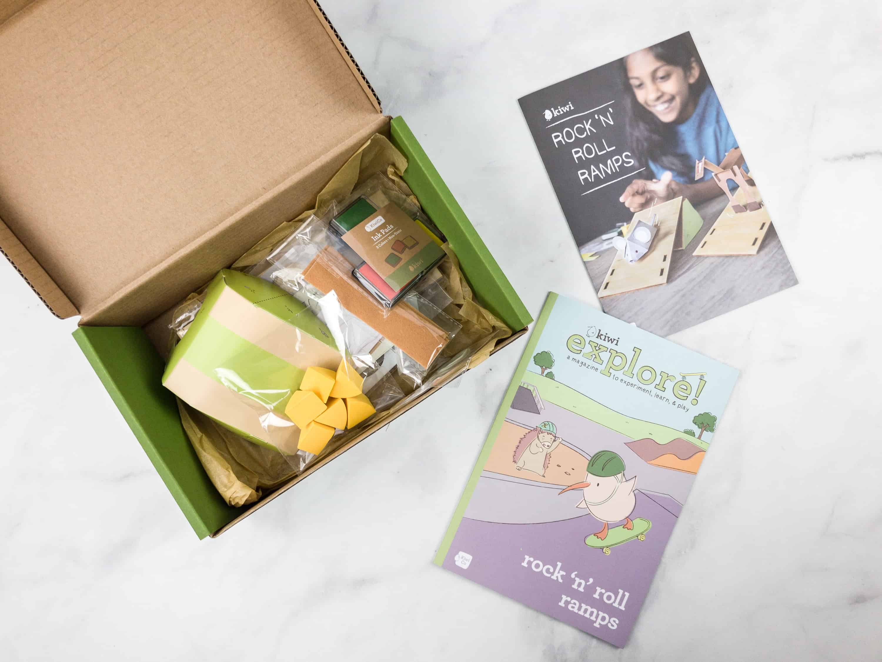 Kiwi Crate February 2018 Review & Coupon – Rock N Roll Ramps Box!