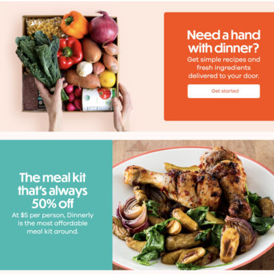 Dinnerly Subscription Update + Coupon!