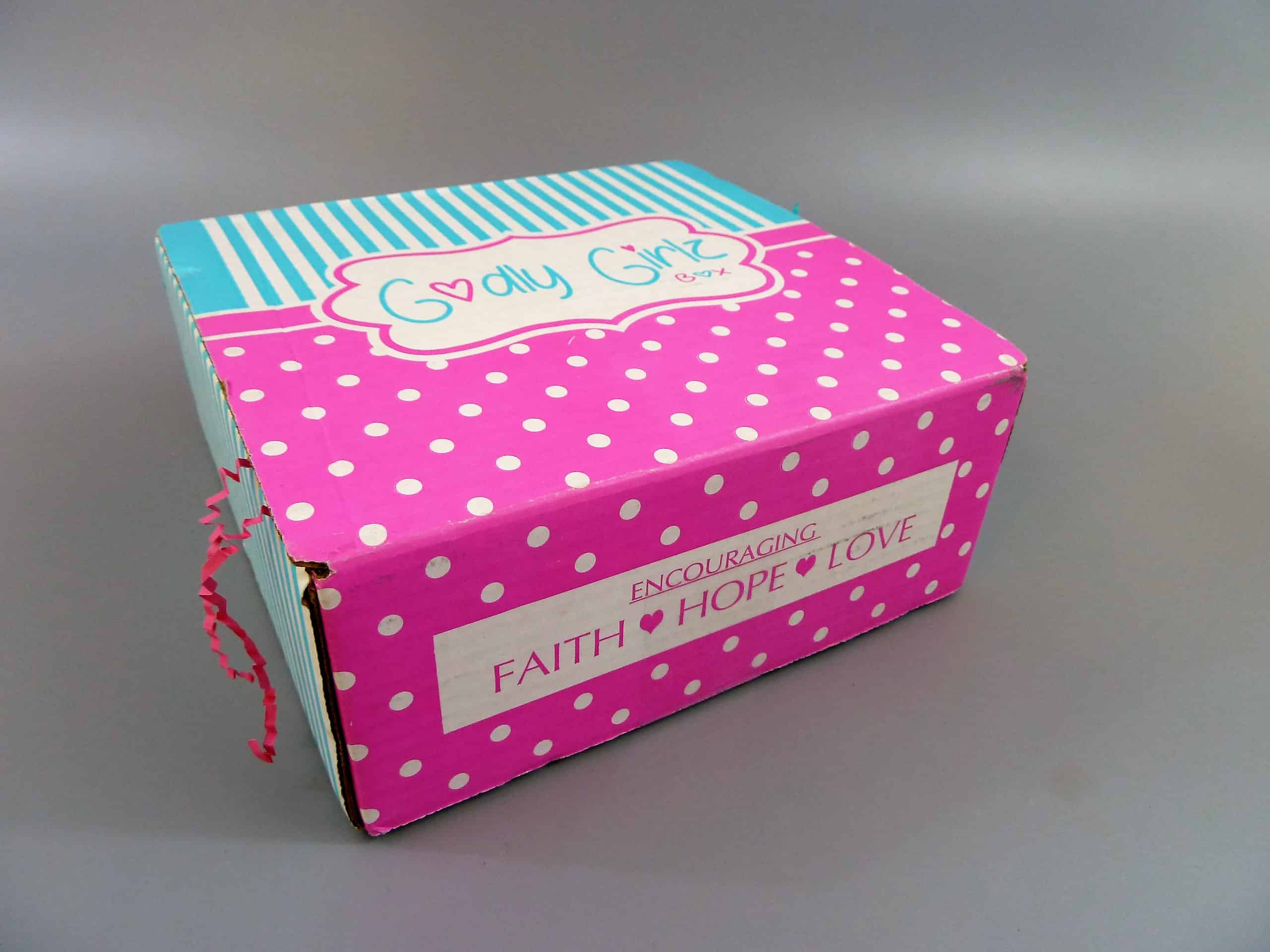 Godly Girlz Box Winter 2018 Subscription Box Review + Coupon