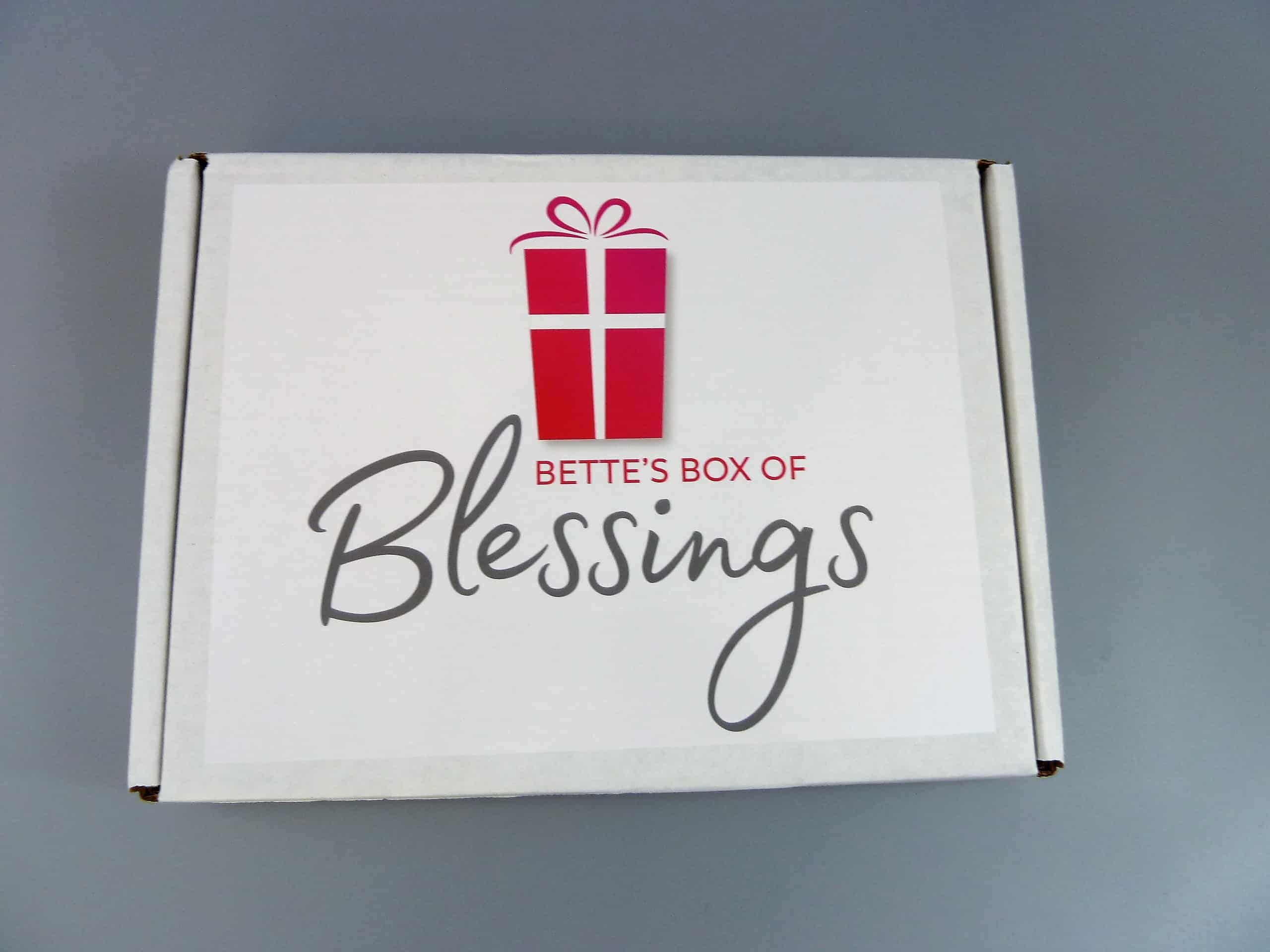 Bettes Box Of Blessings Subscription Box Review Coupon February