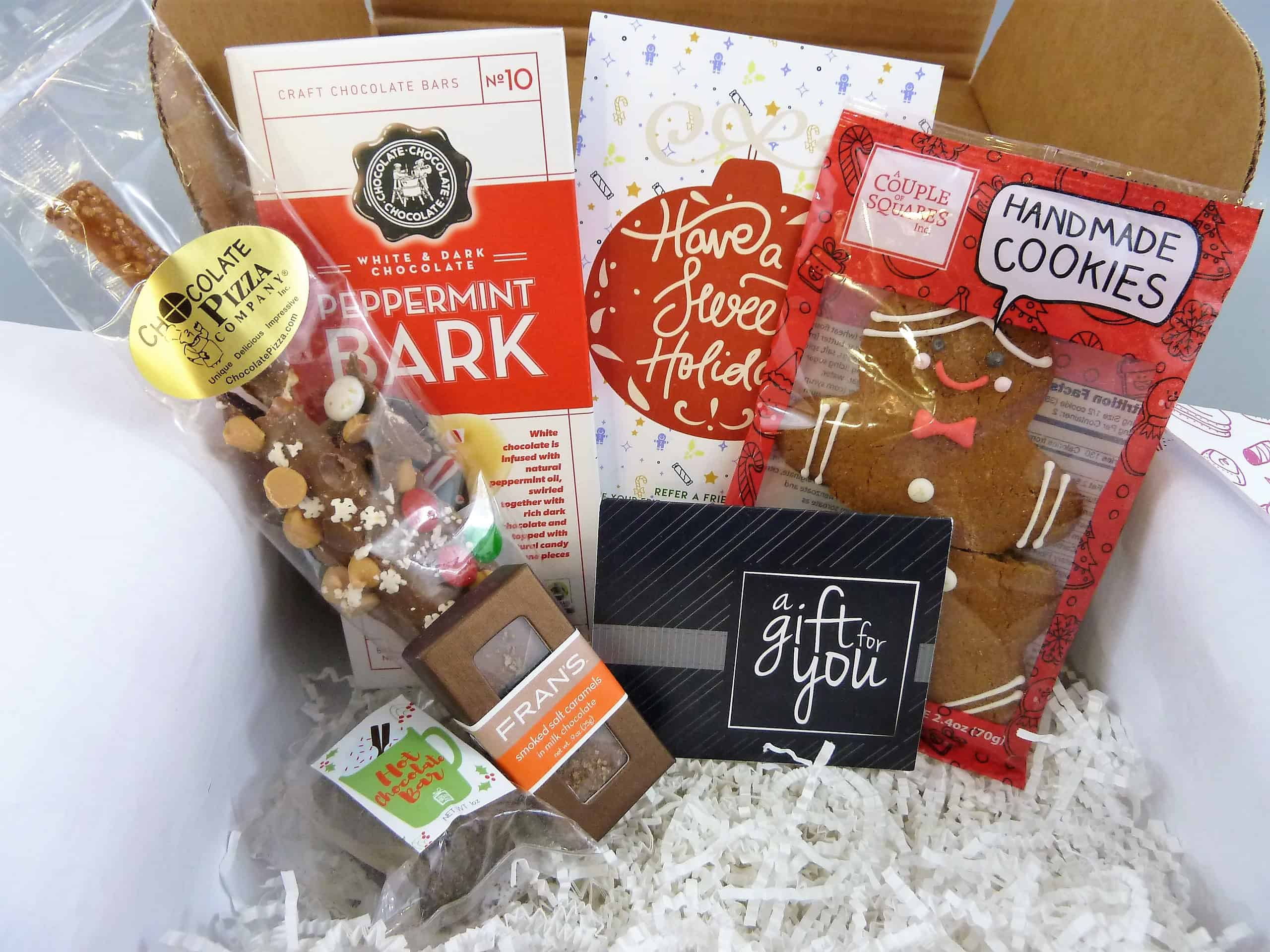 Sweets Gift Box December 2017 Subscription Box Review + Half Off First Box!